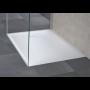 Receveur en composite blanc mat - 120 x 90 cm